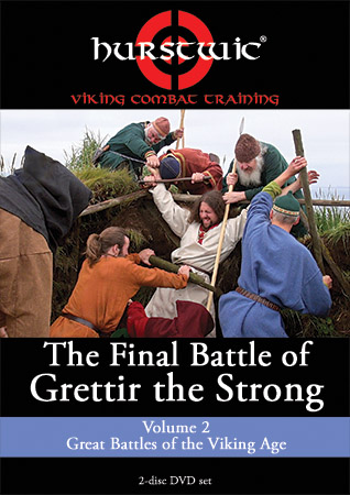 DVD cover The Final Battle of Grettir the Strong